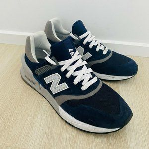 New Balance MS997HGB Navy Mens Sneakers Size 8